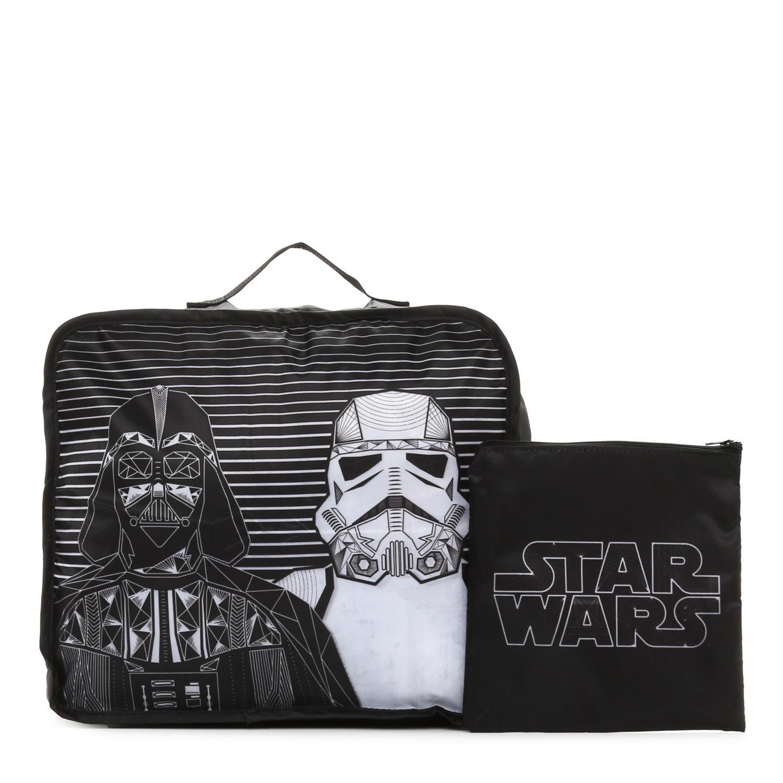 Star Wars Boys Travel Organizer 2-Piece Set in Black