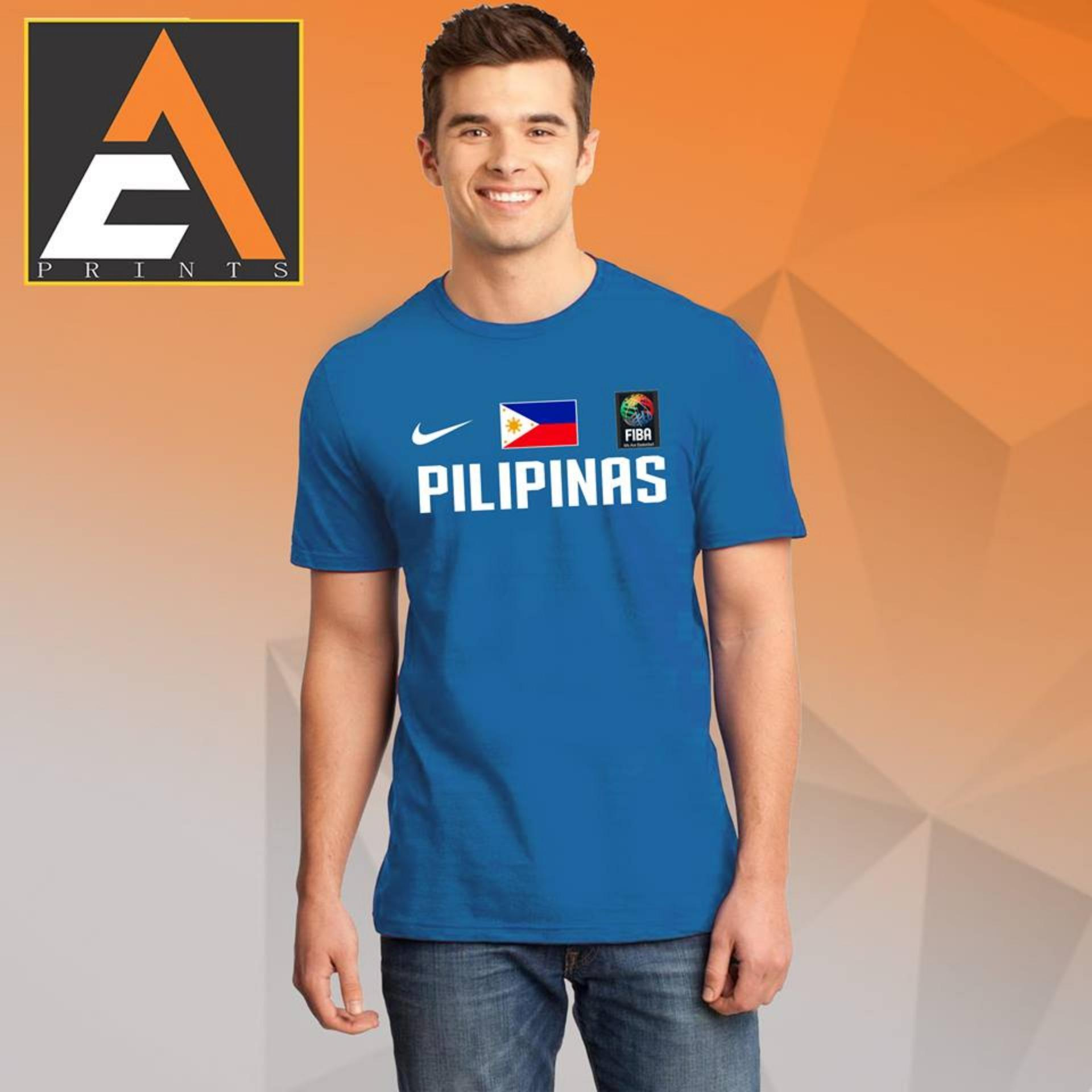 80dbcf448d88 Gilas Pilipinas t shirt Basketball Shirt Unisex(Men Women)(Male Female