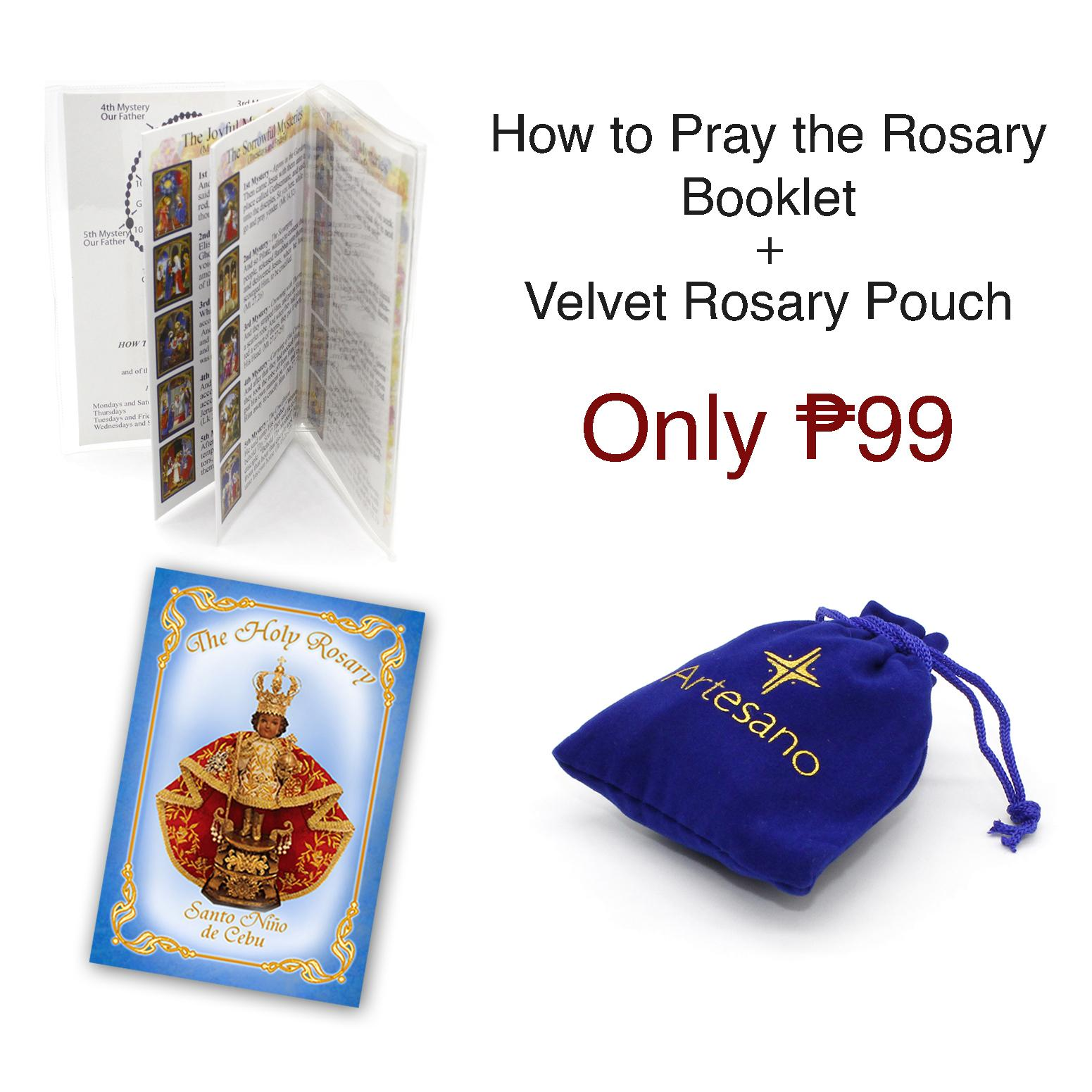 How To Pray The Rosary Catholic Booklet With Mysteries Explained Pocket Sized Brand New
