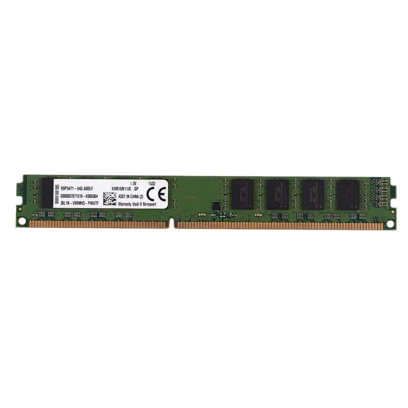 DDR3 8GB Ram 1600MHz 1.5V Desktop PC Memory 240Pins System High Compatible for Intel