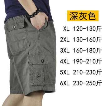 กางเกงสั้นชายเพิ่มขนาดไซส์ใหญ่พิเศษคนอวบอ้วนกางเกงขาสั้นผู้ชายดรายเอ็กซ์อ้วนลำลองกางเกง 5 ส่วนสำหรับฤดูร้อนแบบบาง