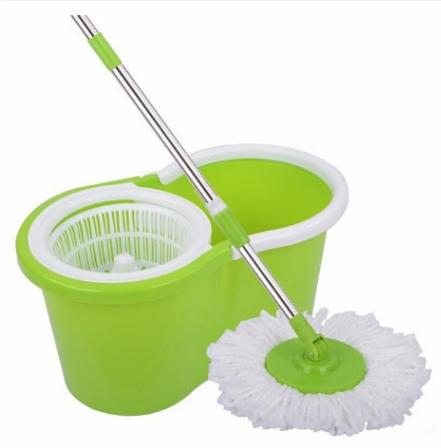 Microfiber 360° Spin Mop & Bucket Floor Cleaning With Wheels By Jfshop1227.