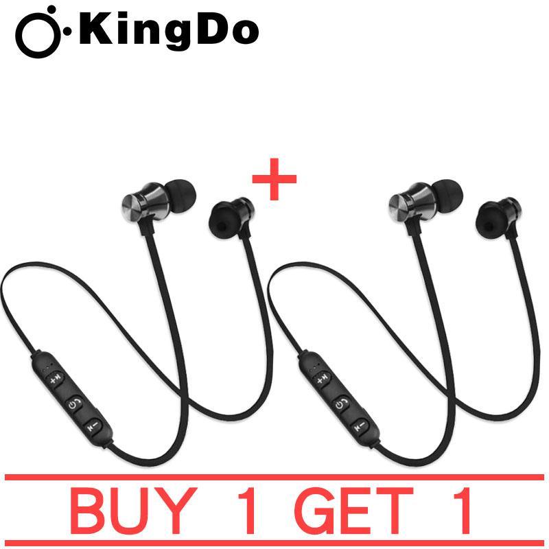 Kingdo Magnetic Earphone Sports Bluetooth Earphone BUY 1 TAKE 1