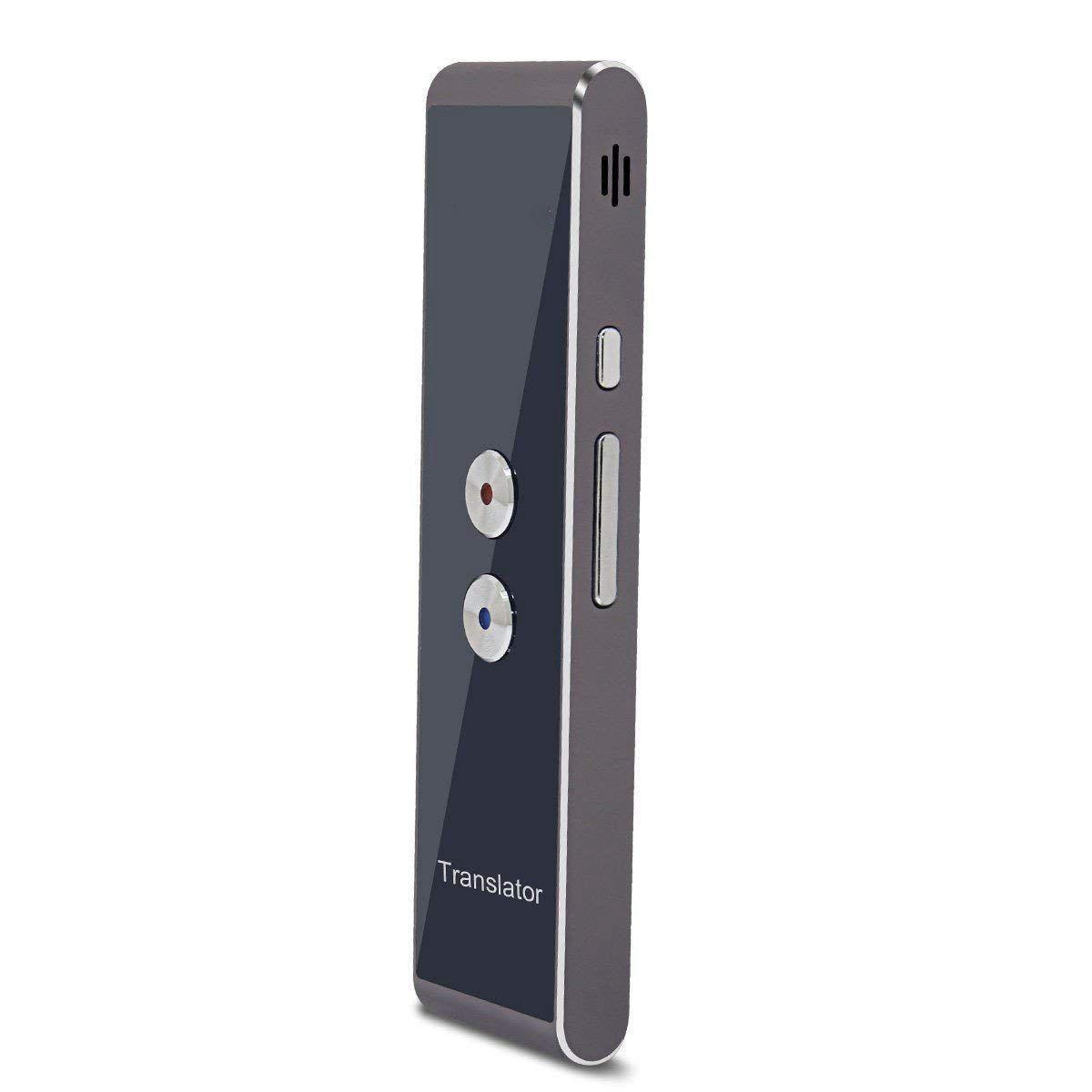 T8 Handheld Pocket Smart Voice Translator Real Time Speech Translation, 30+ Languages For Travel Business Shopping Meeting Translator By Ertic.