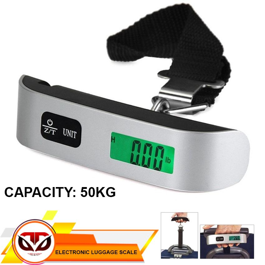 D&d Portable 50kg Lcd Digital Hanging Luggage Weight Electronic Hook Scale Travel By D&d.