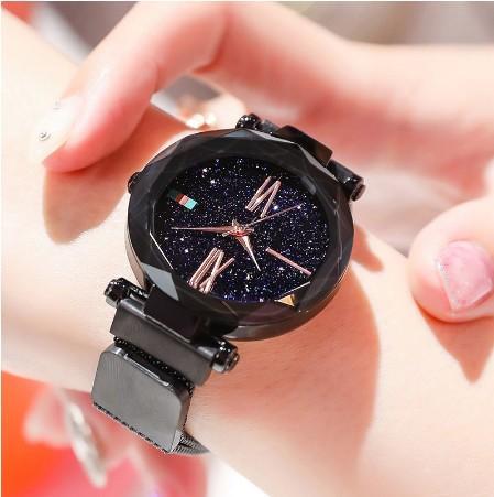 db3c400ceb Starry Sky Watch Woman Watch Star Watch Magnetic Strap Watch Stainless  Steel Watch Korean Watch Fashion