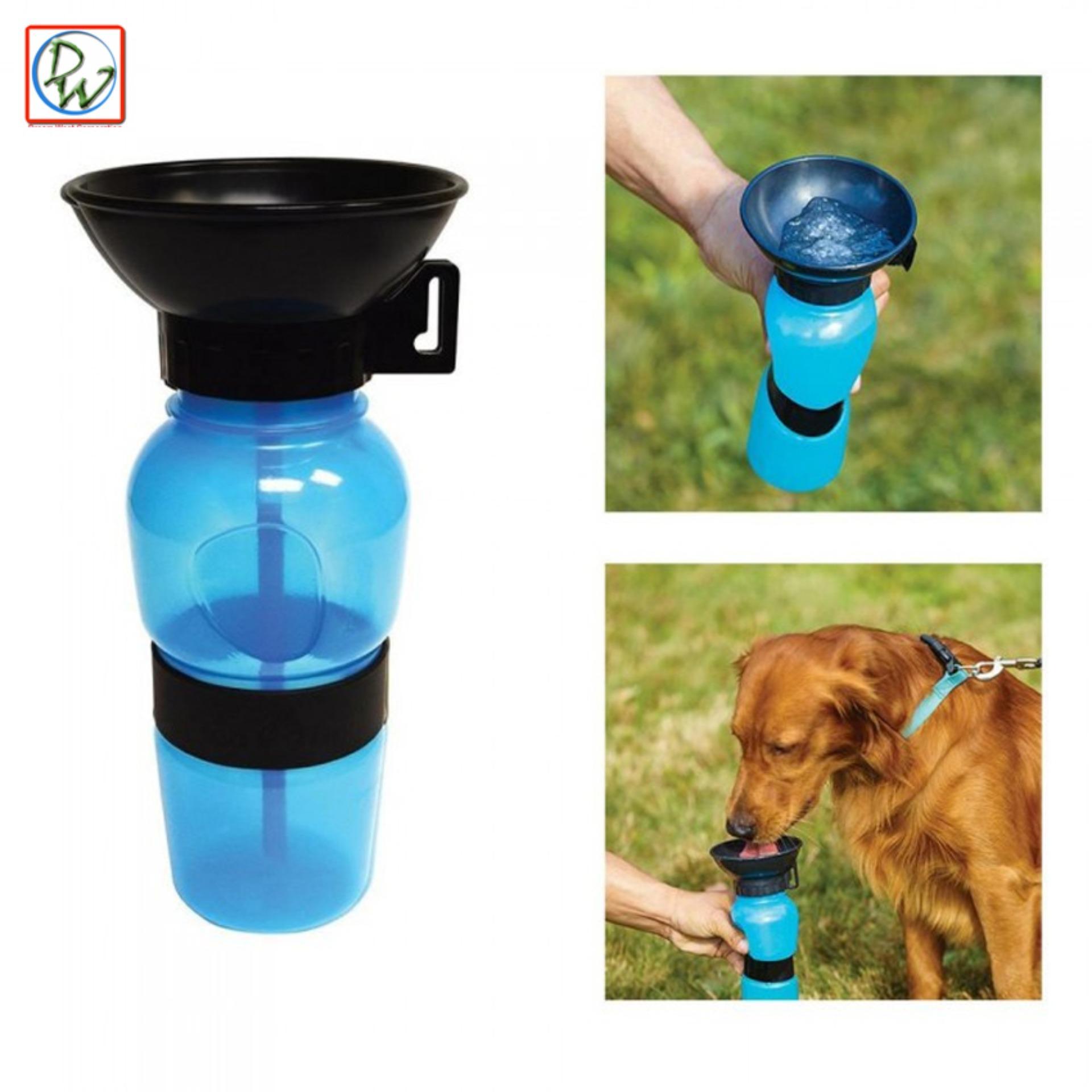 93d14c3a4786 Aqua Dog Water Feeder Bottle (Blue)