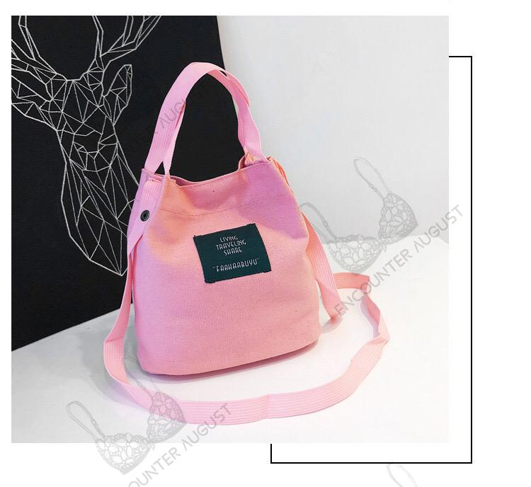 Canvas Handbag Crossbody Bag Women Bag Sling LB-520
