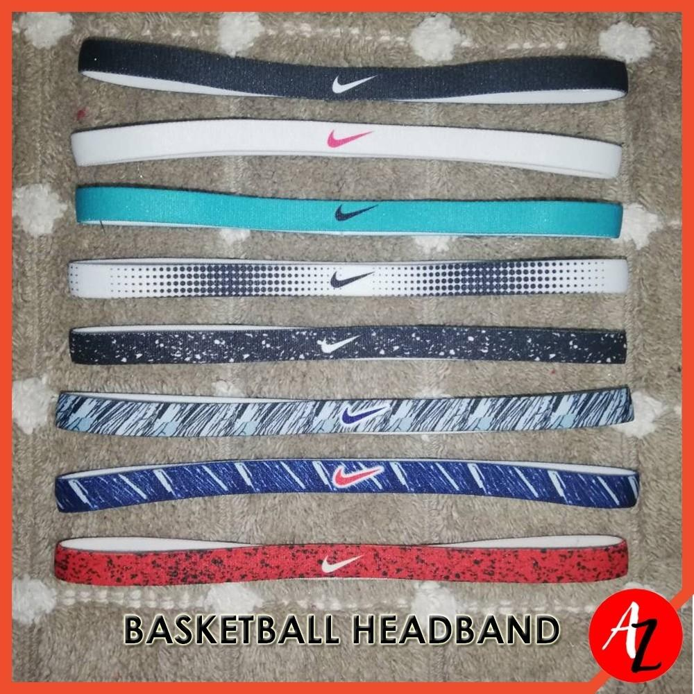Unisex Non-Slip Silicon Sweat Basketball Volleyball Rubber Headband By A-To-Z Shop.