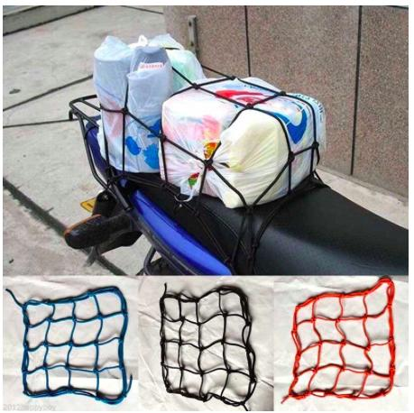 6 Hooks Hold Down Cargo Luggage Helmet Net Mesh By Venus New Fashion (vnf).