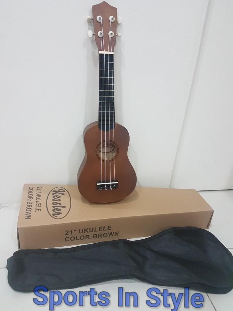 Musical Instruments For Sale Best Seller Prices Return From Diagram Of A Nylon String Guitar Kessler Ukelele Brown 21 Inch With Carrying Case