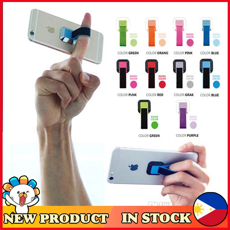 Colors Ungrip Phone Holder Finger Ring Smart Handle Mobile Phone Smart Phone Bracket Flexible Design And Multiple Holding Methods For The Back Of The Phone By Lili Shop Ofiicial.