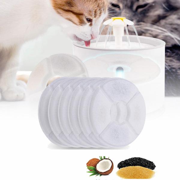 Bông Cải Xanh Tương Thích Cho Mèo Cưng Đài Phun Nước Tự Động Máy Lọc Than Hoạt Tính Cho Mèo Con Bộ Lọc, Bộ Lọc Đài Phun Nước Bộ Lọc Thay Thế