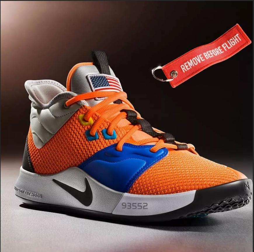 d875eecd60eb1 The new PG 3 has dropped with a NASA-themed colorway Basketball Shoe Anti-