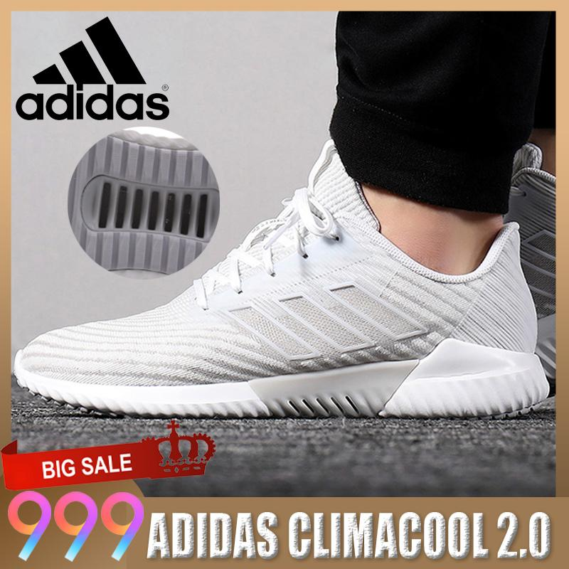 3ca283c96 CLIMACOOL 2.0 Men Running Shoes Breathable Sports Outdoor Shoes Black White  Sneakers Black White