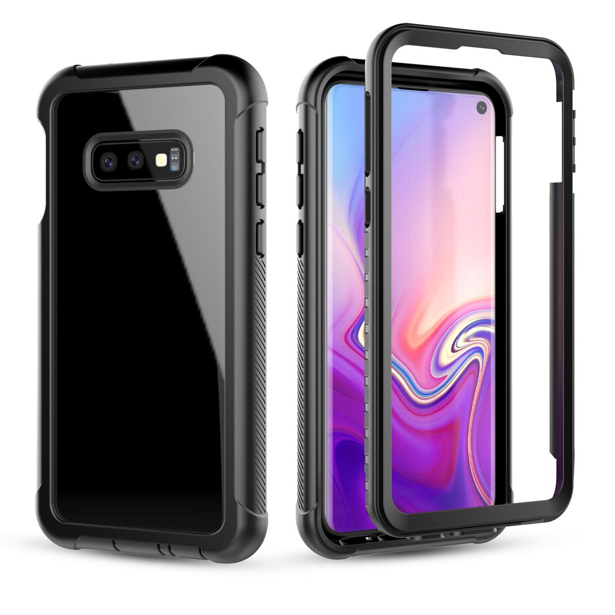 Moonmini Case for For Samsung Galaxy S10e Case 360 Degree Protection Dustproof Shockproof Back Case Cellphone