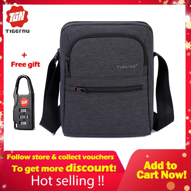 2168b021c0e Philippines. Tigernu Brand Waterproof Men  s Messenger Bag Business  Shoulder Bags Casual Travel Bag T-