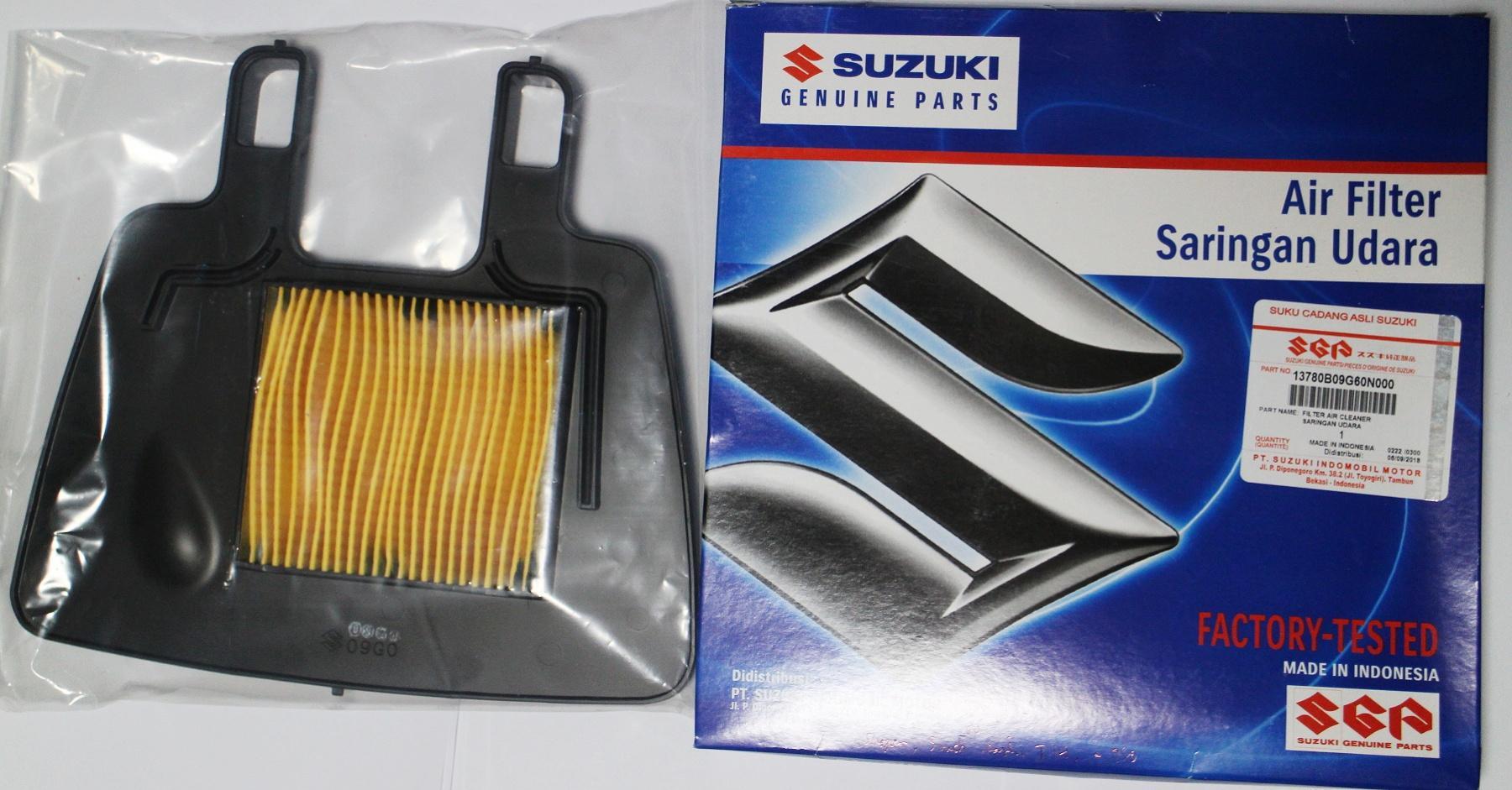 ORIGINAL SUZUKI AIR FILTER/CLEANER FOR RAIDER J 110