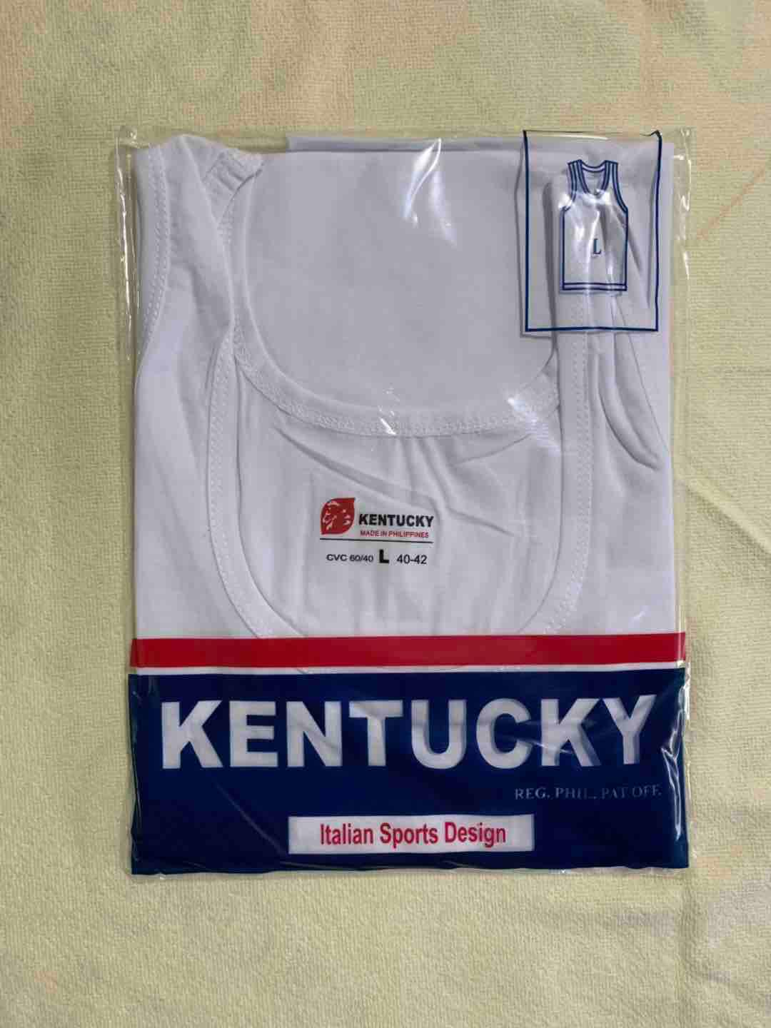 Kentucky Sando White For Adult By Smile-T&c Shop.