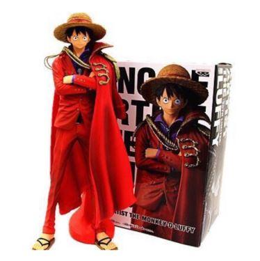 Anime One Piece King of Artist Monkey D Luffy 20TH PVC Action Figure image
