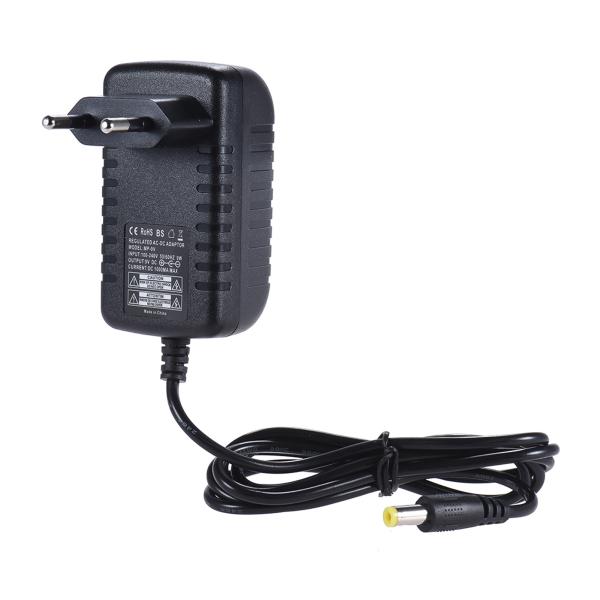 9V 1A Power Supply Adapter Converter for Guitar Bass Effect 100~240V Input EU Plug