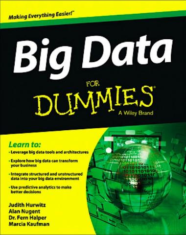 Big Data For Dummies By Alan Nugent, Fern Halper, Marcia Kaufman, Judith Hurwitz By Nexomedia.