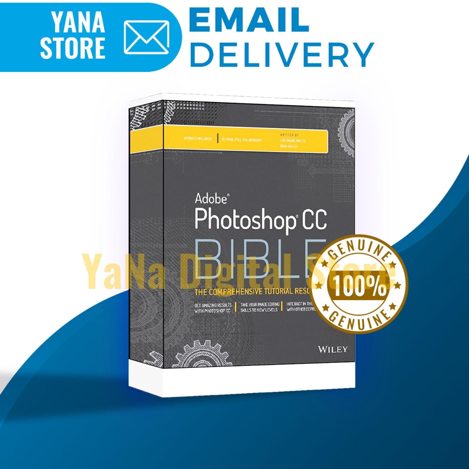Adobe Photoshop CC Bible - PDF - Instant Email Delivery