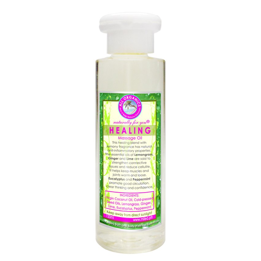 Milea Healing Massage Oil 120ml