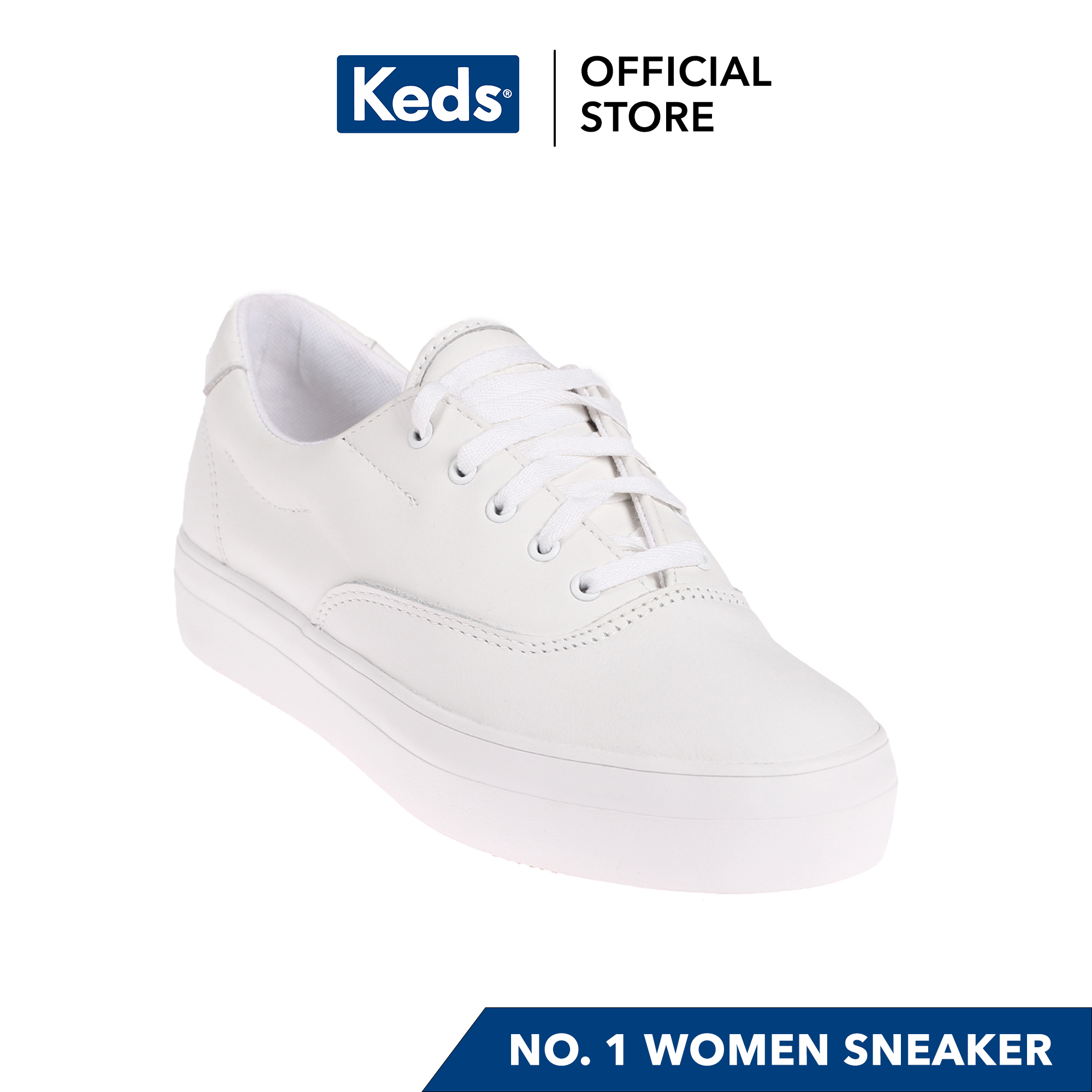 Keds Rise Leather Oxford Sneakers