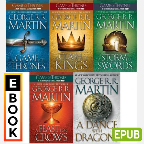 Game Of Thrones Complete Series (books 1 - 5: Song Of Ice And Fire Series) By George R. R. Martin - Digital Ebook By Audiobooks.