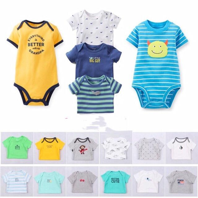 2c17da3cdfcf7 BRANDED or CARTER'S romper onesie bodysuits boys(randomly given)sold by each