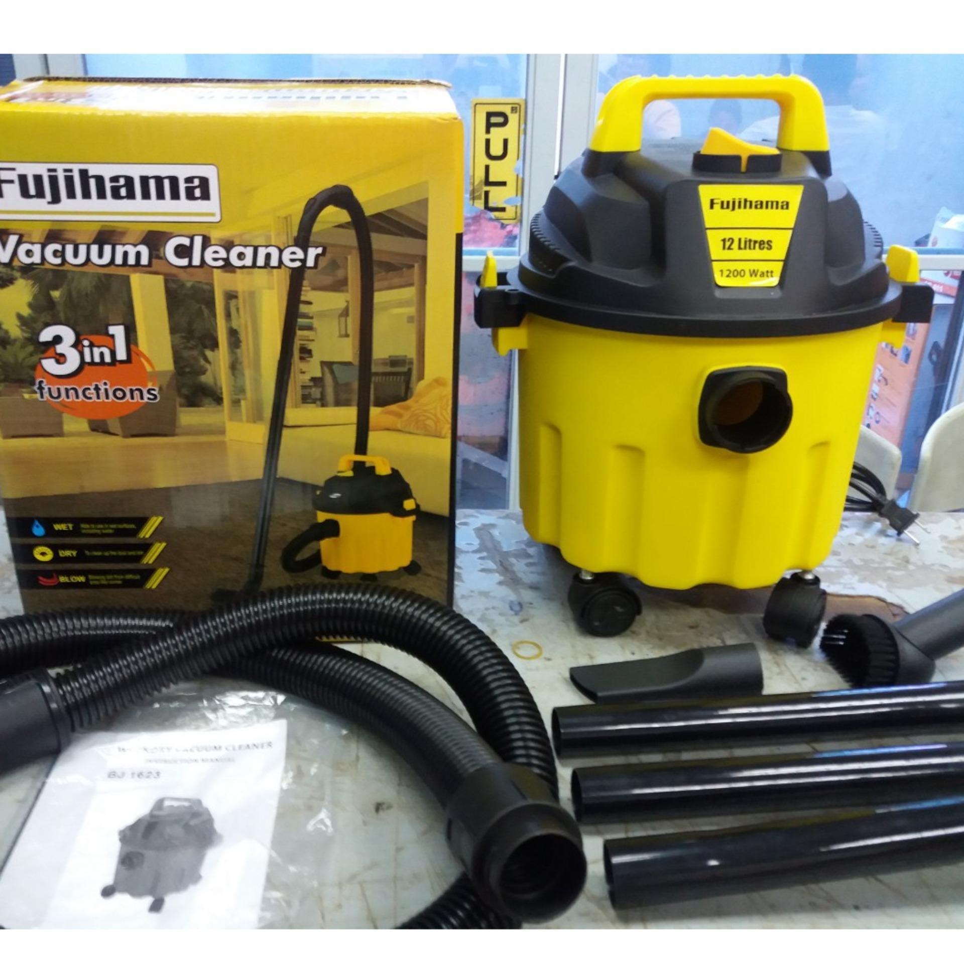 ed5f3d4c4ba Fujihama Vacuum Cleaner Wet Dry Blow 12L