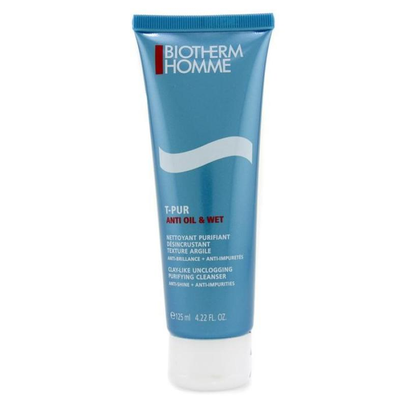 Buy BIOTHERM - Homme T-Pur Clay-Like Unclogging Purifying Cleanser 125ml/4.22oz Singapore
