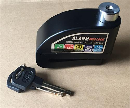 Heavy Duty Motorcycle 110db Alarm System Rotor Disc Lock By Usje Trading.