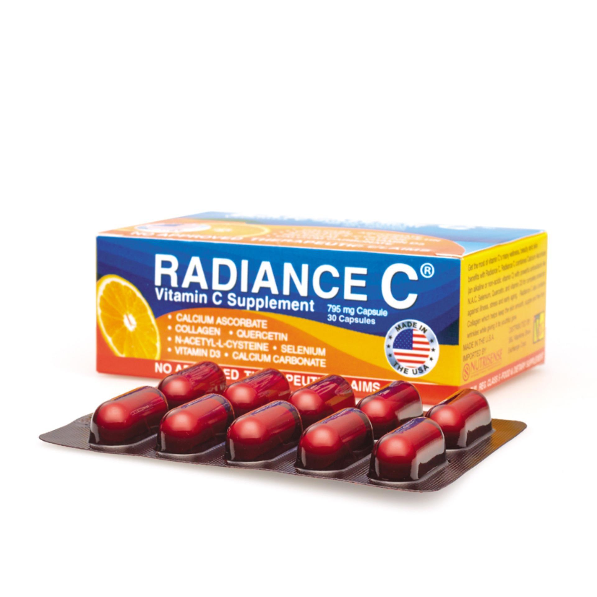 MSE Radiance Vitamins C Supplement Capsules of 30