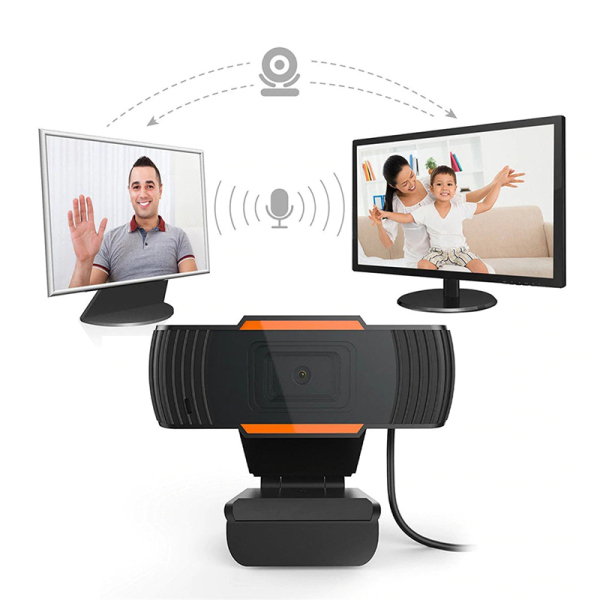 MITOs USB 2.0 PC Camera 1080P HD Video Recording Webcam Rotatable Web Cam With Microphone For Computer PC Computer Laptop Skype MSN