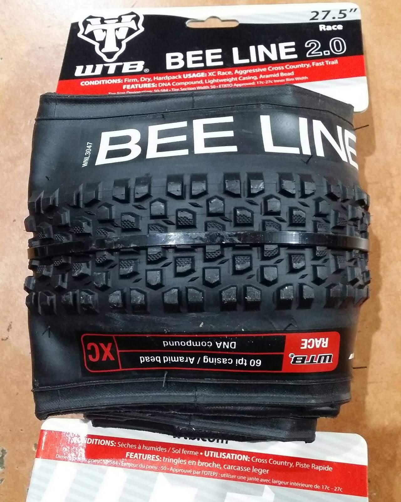 WTB Bee Line Wire 27.5 x 2.2 Enduro Mountain Bike Tires
