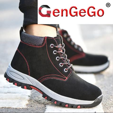 Buy GENGEGO Work Shoes Online | lazada