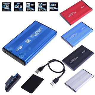 MSRC Văn phòng Nội vụ Bên ngoài Máy tính xách tay PC Hợp kim nhôm Hộp đựng ổ cứng Vỏ SSD SATA 2,5 inch thumbnail