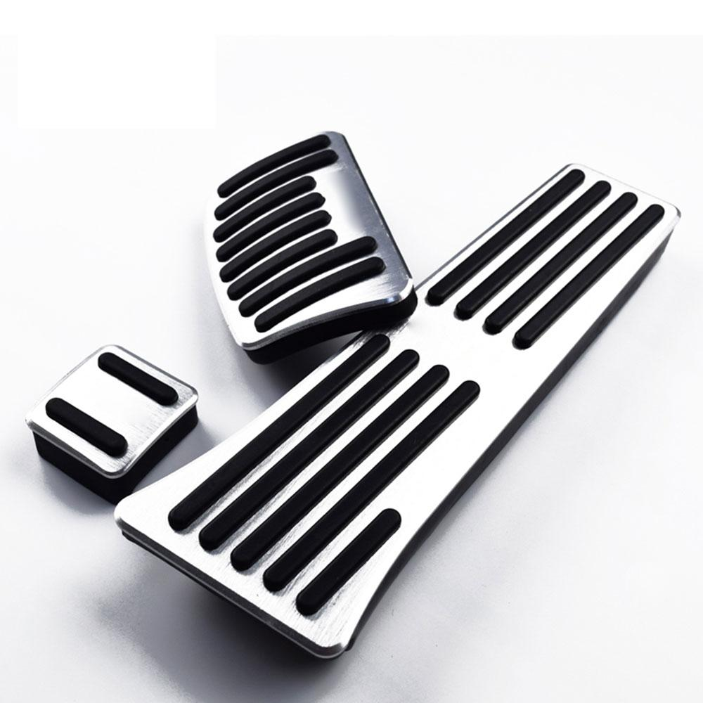 Gas Brake Pedal Gas Pedal Professional Aluminium 3pcs Vehical Controls Car Part For Hyundai Tucson 15-18 By Gogostore.