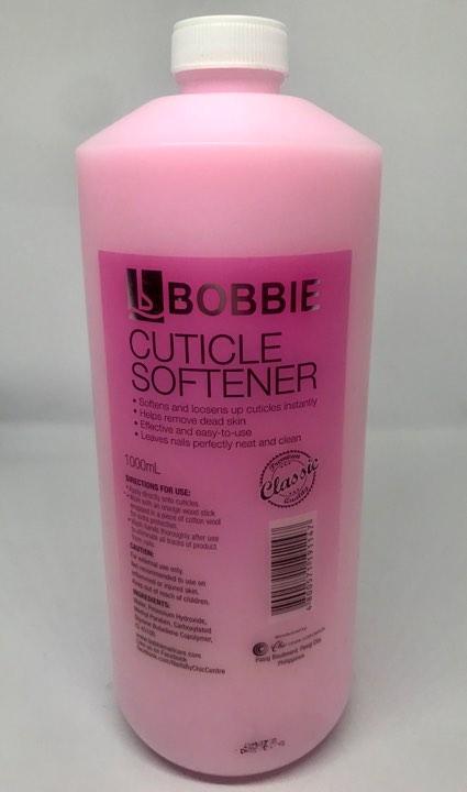 Bobbie Cuticle Softener (Pink) - 1 Liter Philippines