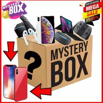 Mystery Box / Box of Surprises (Chance to win Xiaomi Redmi Note 7 1 in  every 50 boxes)