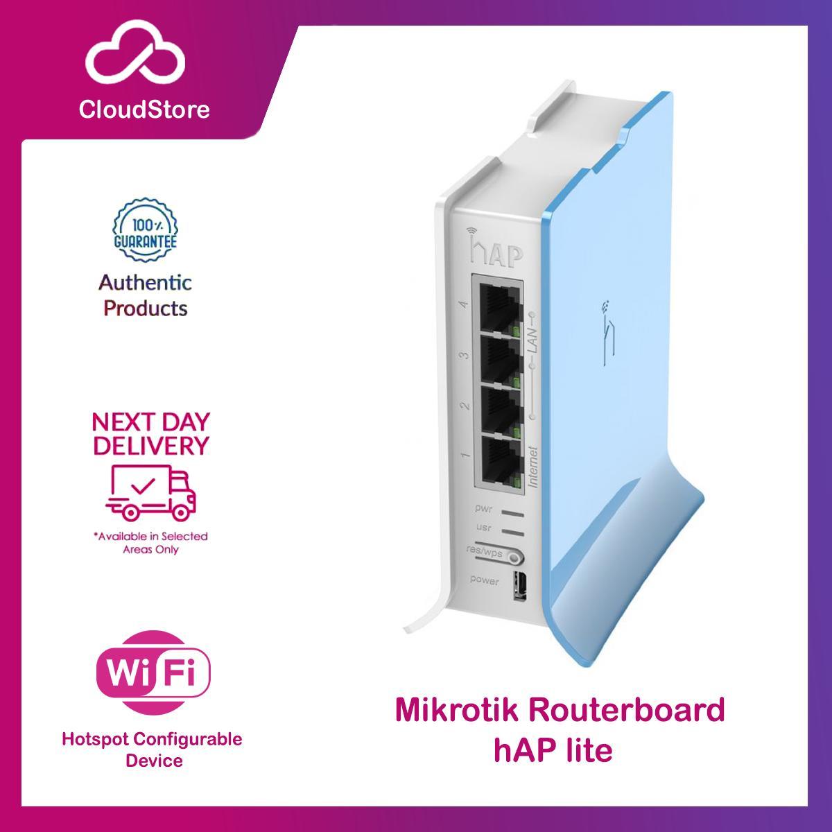 Mikrotik RB941-2nD-TC hAP Lite SOHO Router haplite bandwidth manager AP