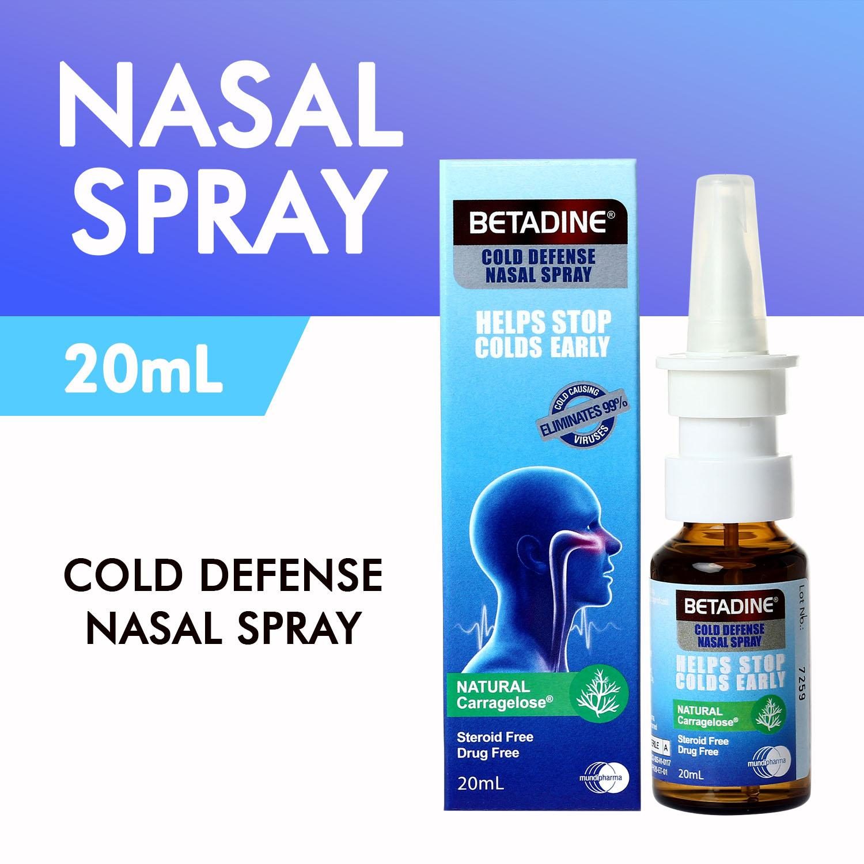 BETADINE® Cold Defense Nasal Spray 20mL