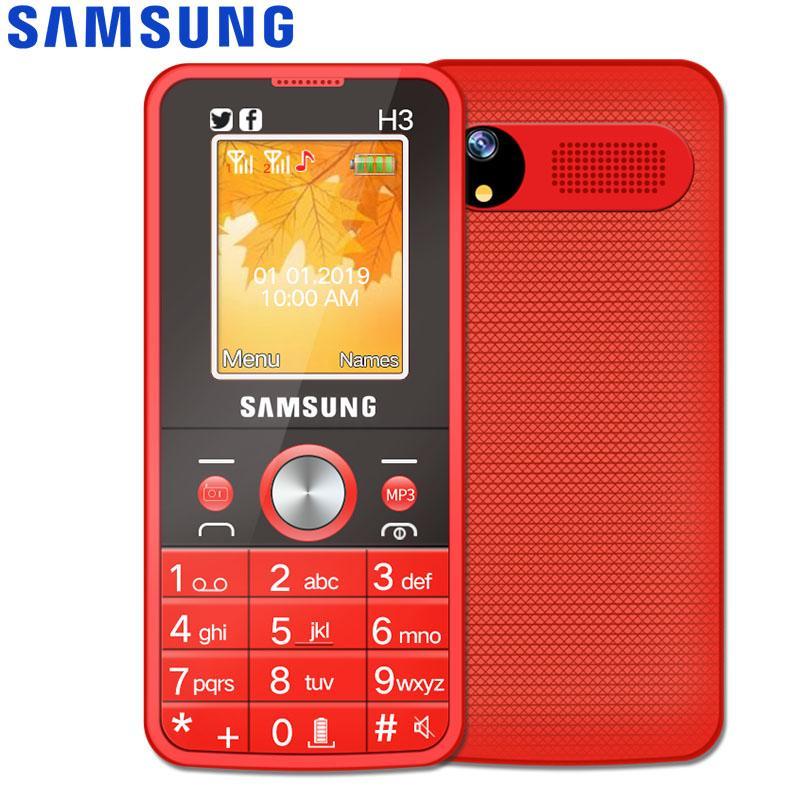 Samsung H3 Basic Mobile Classic Phone Dual Sim Card Camera Cellphone