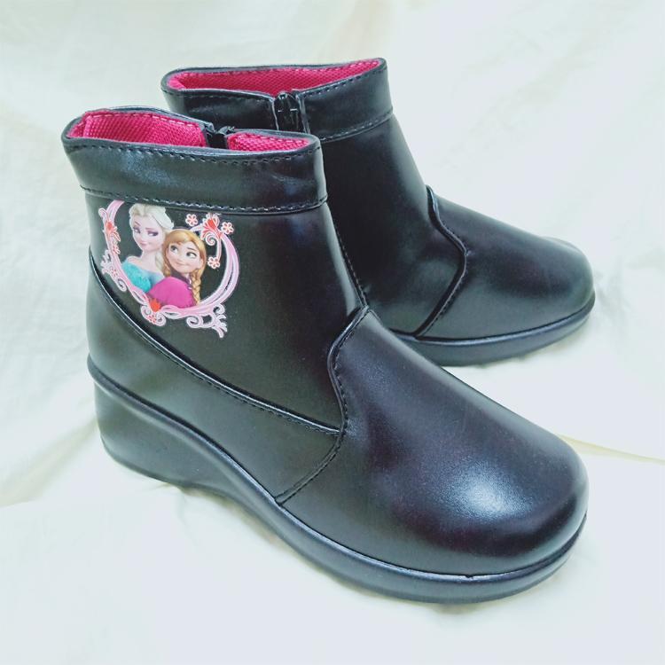 Fashion SHort Boots Girls Zipper School