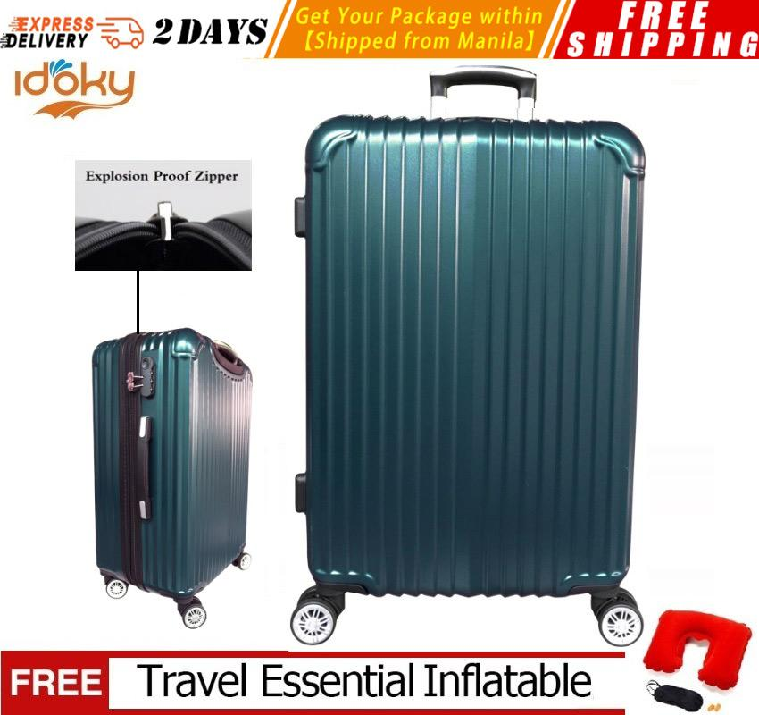 940b6b3fd86 【Idoky PH502 Series】Popular 20 Inch Suitcase With Explosion Proof Zipper  Hard Case Luggage