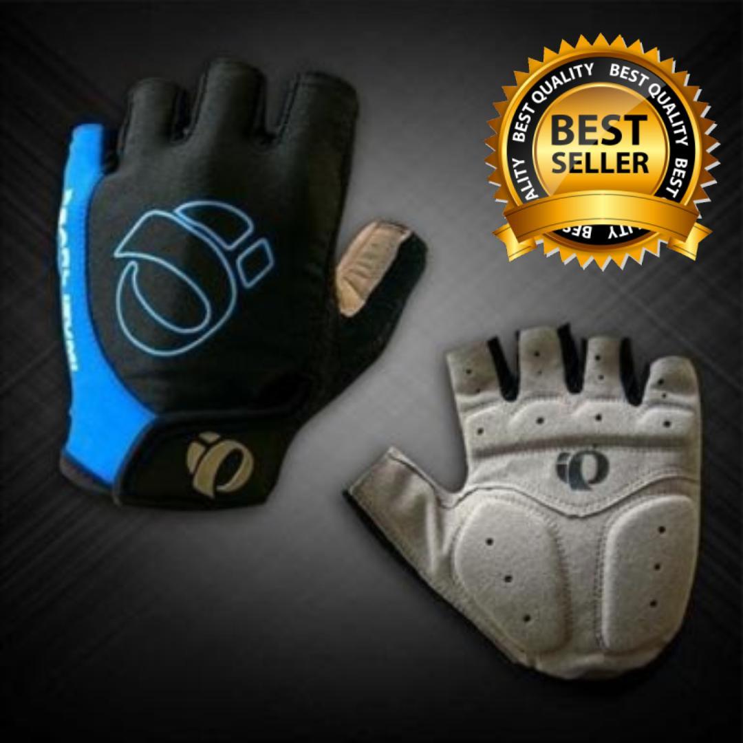 Fortress Half Finger Gel Pad Cycling Bike Pearl Izumi Gloves