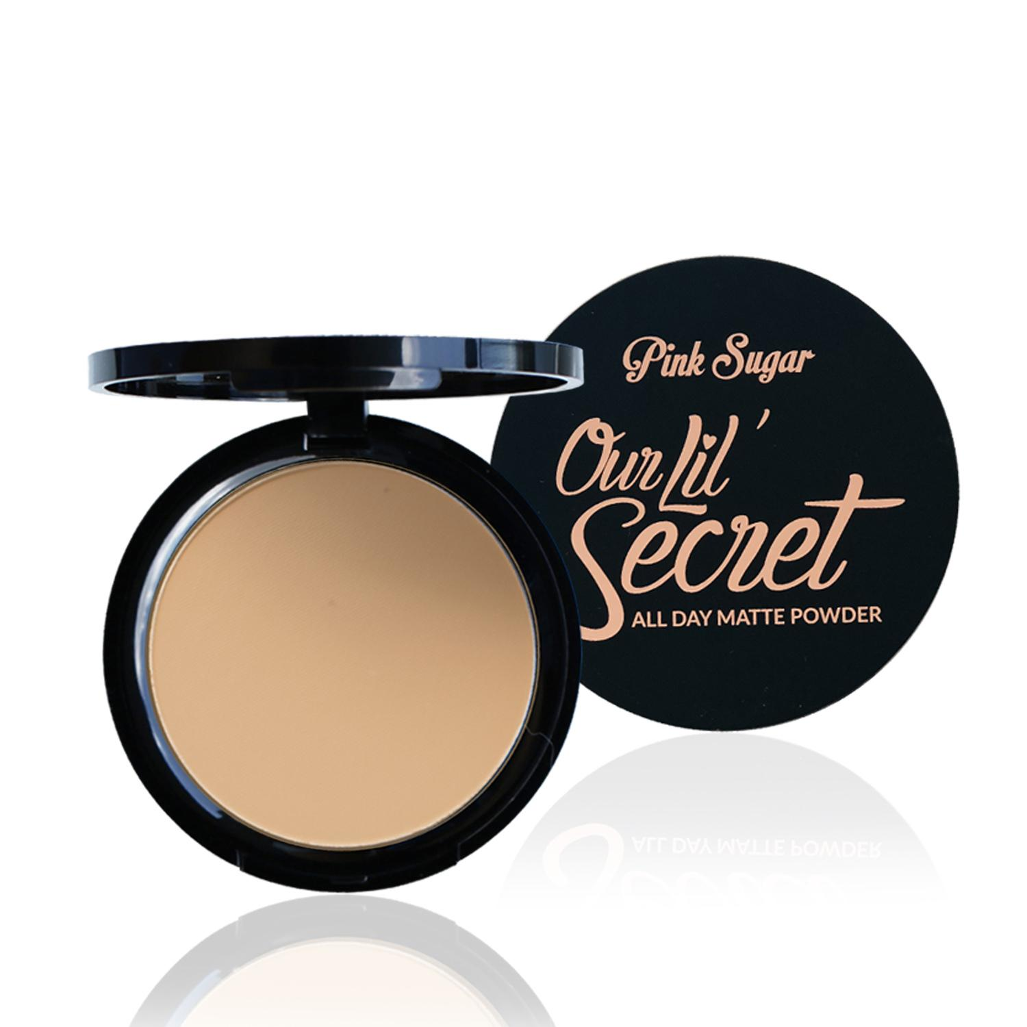 Pink Sugar - Our Lil' Secret All Day Matte Powder (MEDIUM BEIGE) Philippines