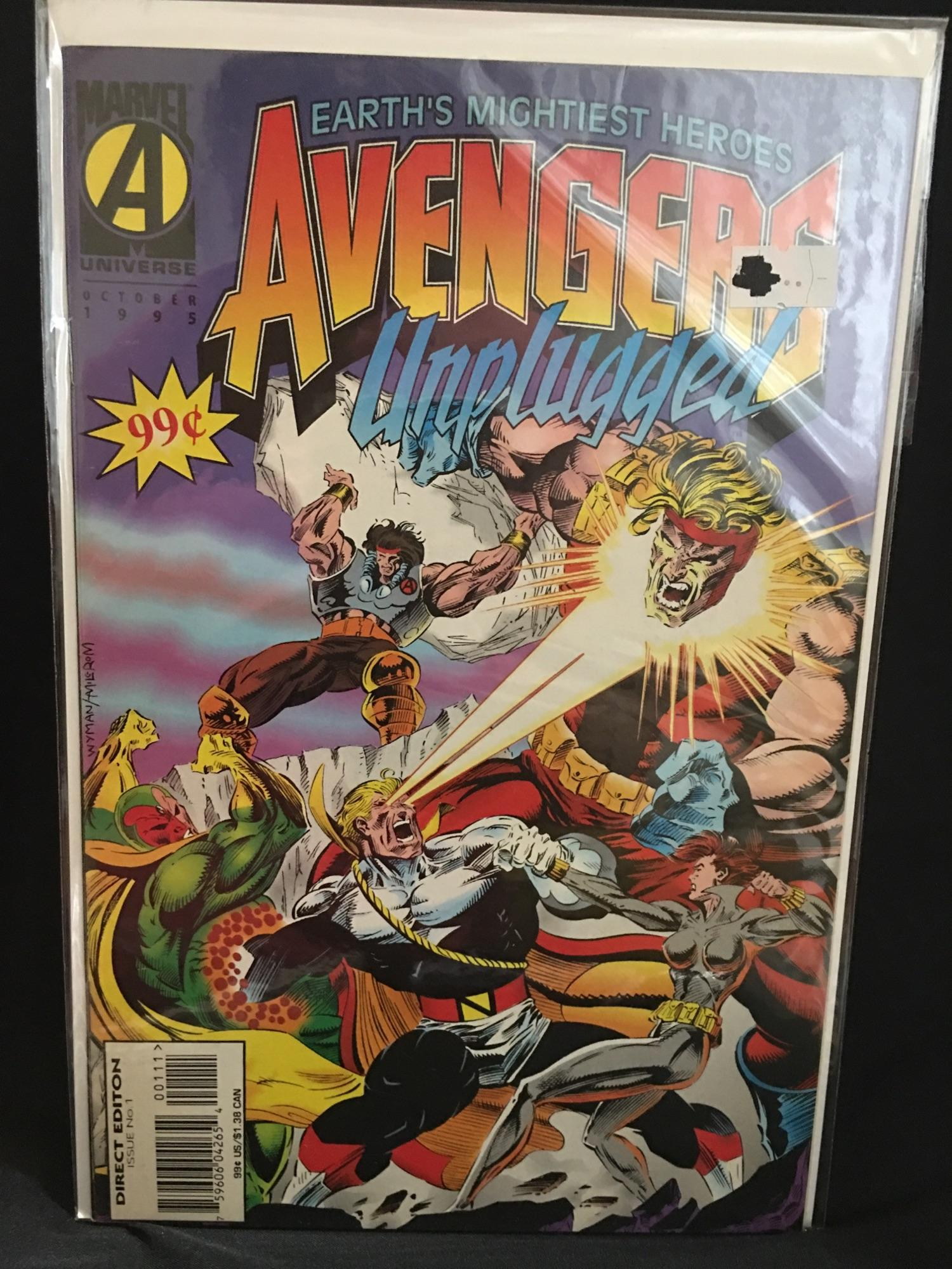 avengers unplugged 1 VF Comic Book